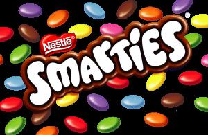 Smarties-banner